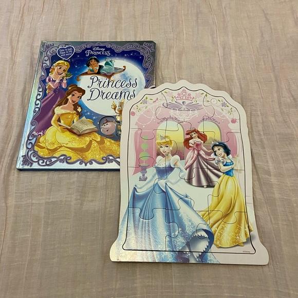 Disney Princess Book and Puzzle
